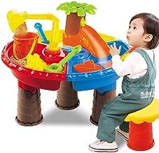 Ububiko Zandtafel om te spelen met water, watertafel, speelgoed voor kinderen, voor baby's, peuters, meisjes, Temprana-ond...