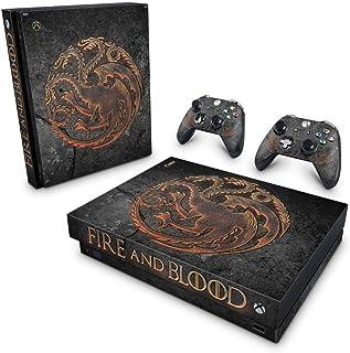 Skin Adesivo para Xbox One X - Game Of Thrones Targaryen