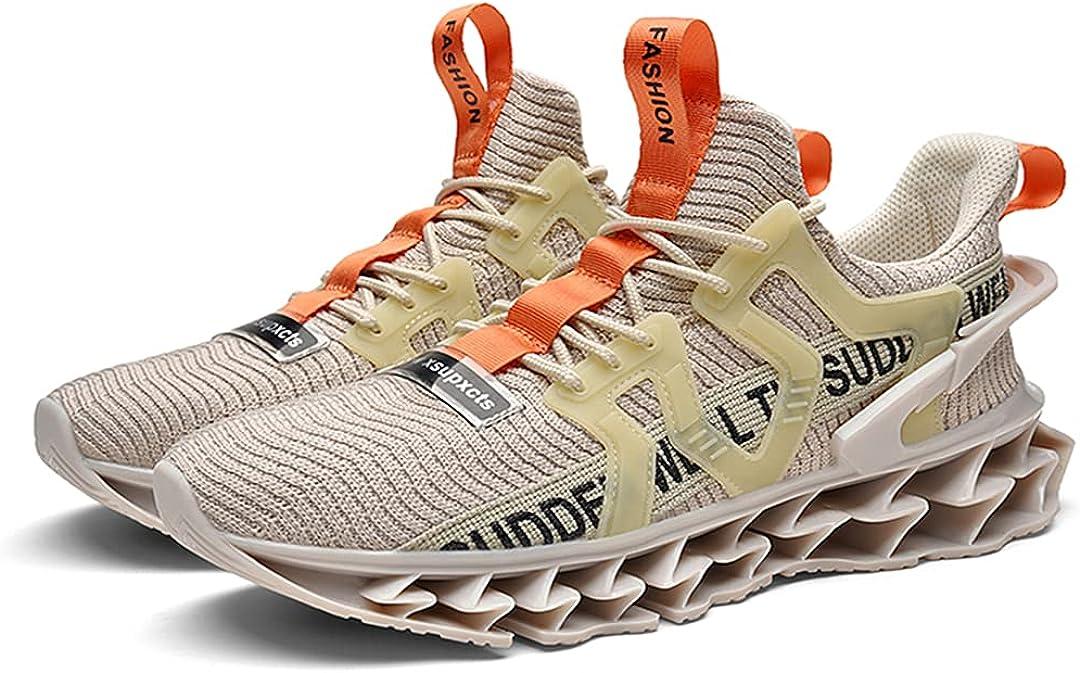 HAYING Men's Running Shoes Non Max 52% OFF Slip Walking Tennis Blade Type Sn Large special price