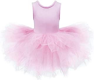 DHASIUE Girls Tutu Dress Toddler Cute Leotard with Tutu Skirt for Dance, Gymnastics and Ballet