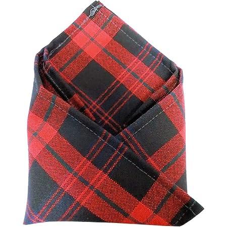 Ingles Buchan Mens Scottish Tartan Pocket Square