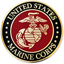 PinMart Military USMC Marine Corps Custom Engraved Personalized Challenge Coin