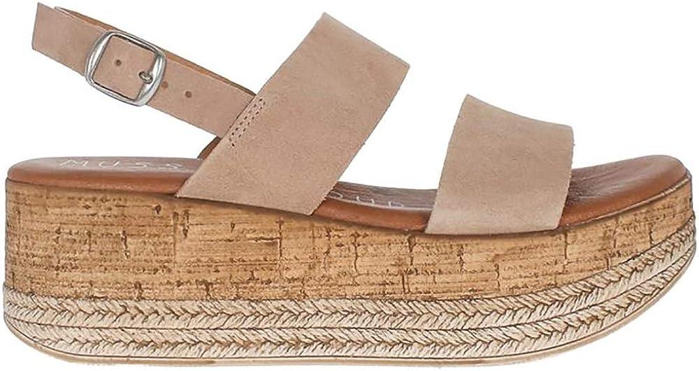 Musse & Cloud Women's Slide on Wedge Sandal
