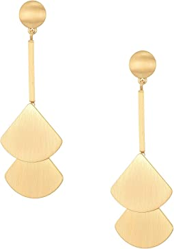 Lucky Brand Fan Drop Earrings