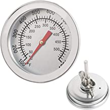 Ovovo Oven Monitoring Thermometer BBQ Thermometer Gauge Baking Thermometer for Kitchen Industry Temperature Measurement and Control 500°C/932℉with Anti-Fog Glass