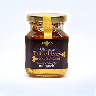 italtouch Truffle Honey with 23KT Gold Flakes 120 gr