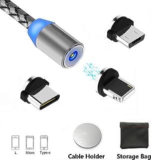Noradtjcca Micro vers USB Adaptateur Type C Convertisseur de Charge de t/él/éphone Android Micro USB vers Adaptateur Type-C Femelle vers M/âle avec Porte-cl/és