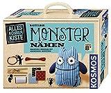 KOSMOS AllesKönnerKiste Monster nähen für Anfänger – DIY-Bastelset für Kinder ab 8 Jahren – das ideale Geschenk für den Kindergeburtstag