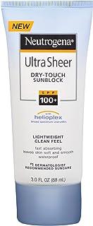 Neutrogena ultra sheer sunblock, LSF 100+, sunscreen, waterproof, from the USA