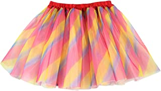 Women's 3 Layers Fluffy Tutu Costume Ballet Dance Skirt for Running