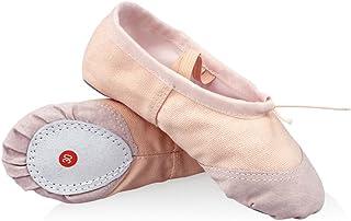 DoGeek Transpirable Zapatos de Ballet Zapatillas de Ballet de Danza Baile para Ni?a