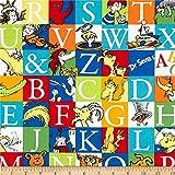 Robert Kaufman Dr. Seuss ABC Blocks Adventure Stoff von The