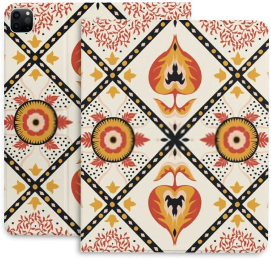 Case for Sale Ranking TOP5 Special Price Ipad Pro 12.9 Damask Pottery Protecti Oriental Talavera