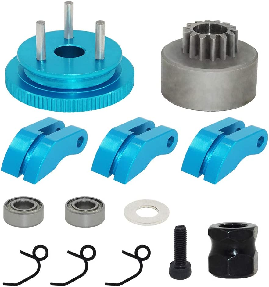 14T Clutch Bell Bearing Gear Flywheel shop Kit C Springs Set Ultra-Cheap Deals Assembly
