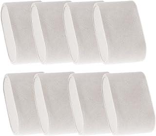 ADTL Velvet 8 Set of Pillow for Watch Winder/Jewelry Organizer/Watch Display Box Case, Grey