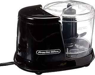 Proctor Silex Food Chopper, 1 1/2 cup, Black (72507)