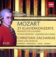 Mozart: 21 Piano Concertos / Concertos for 2 Pianos by Christian Zacharias (2014-09-03)