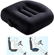 Autostoelverhoger voor volwassenen,autostoelverhoger voor passagiers,draagbare,ademende autostoelkussens van gaas voor aut...