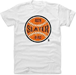 500 LEVEL Austin Slater Shirt - San Francisco Baseball Men's Apparel - Austin Slater San Francisco Ball