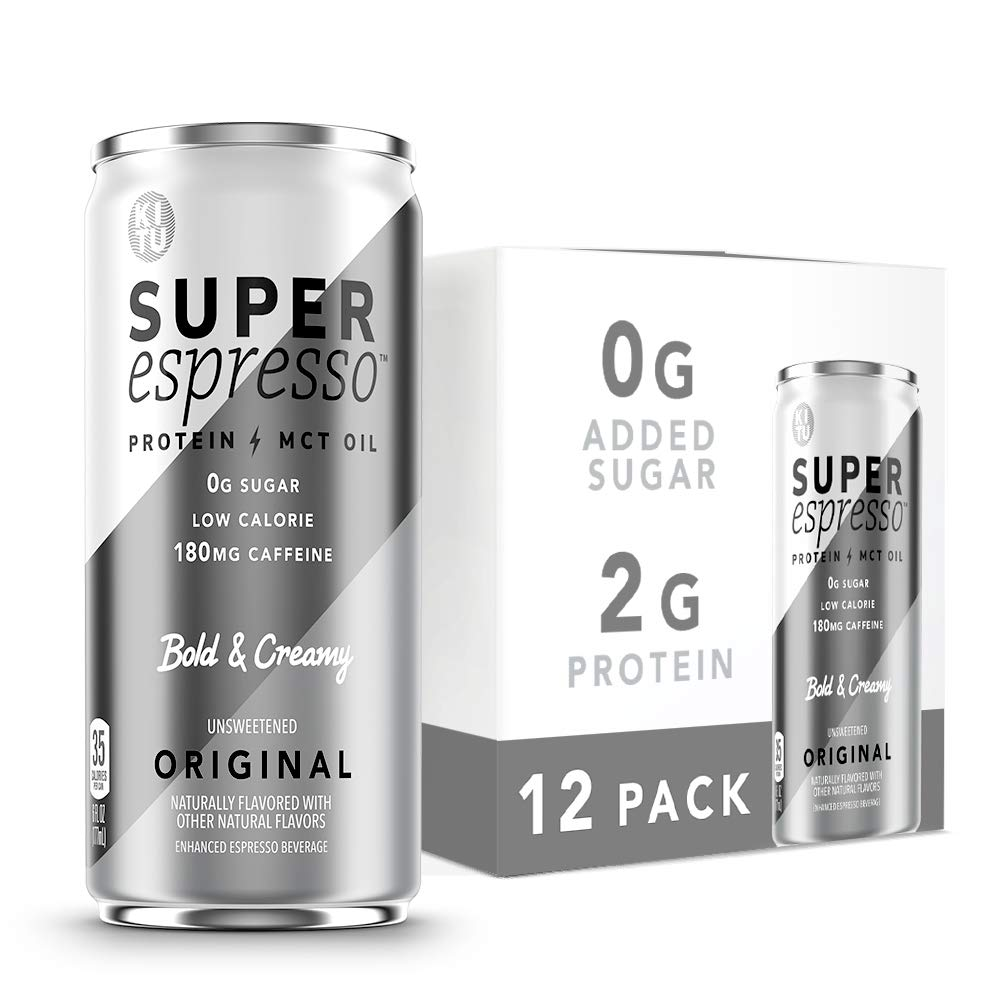 Kitu Super Espresso Keto Coffee Max 83% OFF Cans 0g Super sale period limited 5g Sugar Added Protei