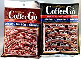 CoffeeGo Coffee and Cappuccino Candy Set, 2 Packs with FREE Candy Samples
