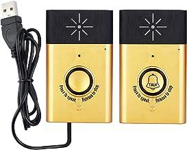 Nishore Campainha Sem Fio Intercomunicador de Voz 2-way Talk Monitor com 1 * Unidade Exterior Botão 1 * Unidade Interior R...