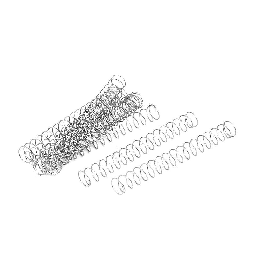ペストリー宝ぞっとするようなuxcell 圧縮ばね 圧縮スプリング 304ステンレス鋼 0.3mmx5mmx40mm 10個入り