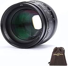 Brightin Star 50mm f/1.4 APS-C Large Aperture Manual Lens for Fuji X Mount Camera-Black