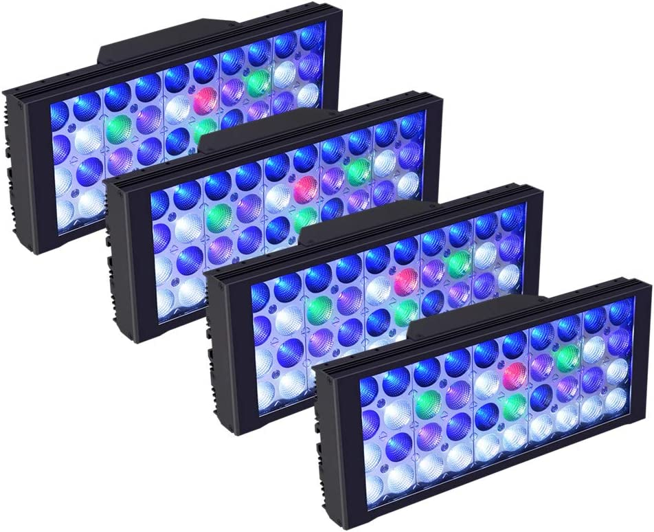 DSunY 4X shop LED Aquarium Light 480W M Reef Lamp Saltwater for Fort Worth Mall Coral