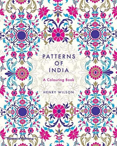 Patterns of India A Coloring Book product image