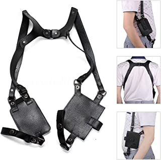 Anti-Theft Hidden Underarm Strap Wallet Pocket Holster Phone Shoulder Holster Bag Leisure Double Shoulder Pouch