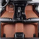 SADGE Alfombrilla de Lujo para el Piso del automóvil Hecha de Cuero a Medida Alfombrilla para el Piso Cobertura Total para alfombras Delanteras y traseras para Chrysler 300C Grand Voyager Sebring