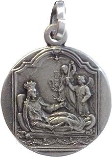 Medaglia di Santa Filomena In Argento Massiccio 925 - Le Medaglie dei Santi Protettori