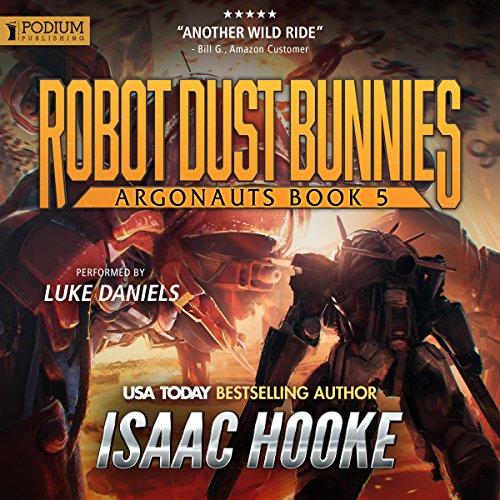 Robot Dust Bunnies audiobook cover art