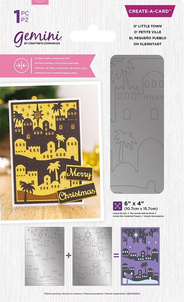 Crafter's Companion Gemini Ranking TOP7 Double-Sided Create-a-Card Max 58% OFF Metal Cutt