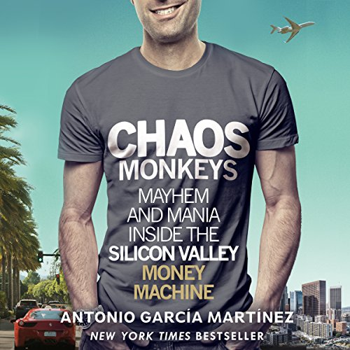 Chaos Monkeys audiobook cover art