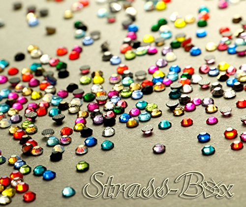 Strass Hotfix DMC - Mélange de couleurs SS10 - Qualité AAA - 500