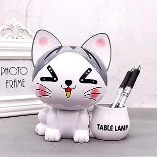 Led Piggy Bank Table lamp, Creative Cute Multi-Function Desk Lamp Night Light, USB Charging Folding lamp - Cartoon Cat