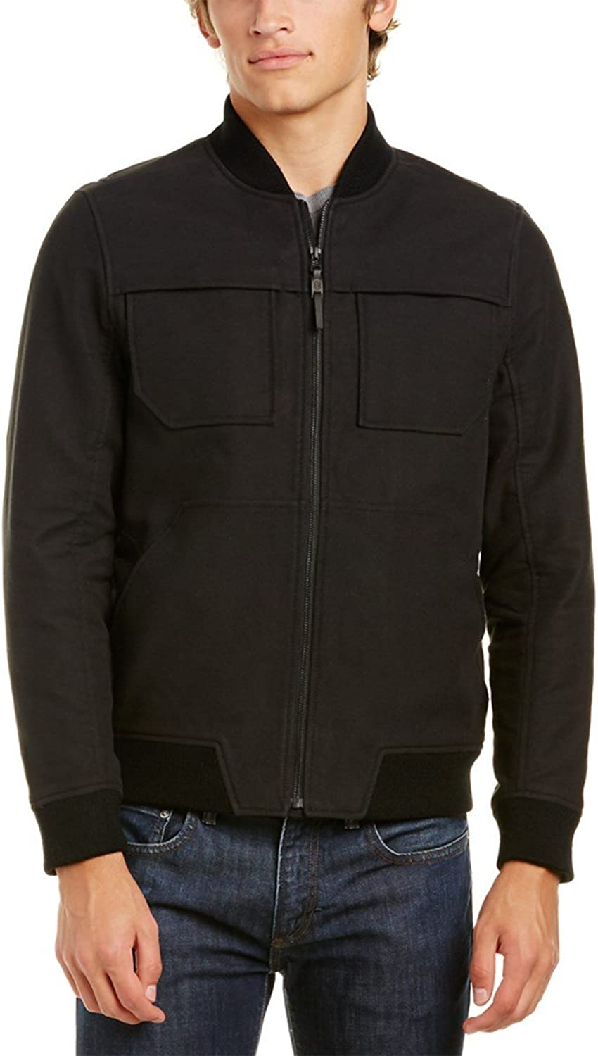 Victorinox Swiss Army Elevation Thermore Ecodown Bomber Jacket (XSmall, Black)