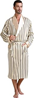 Mens Silk Satin Bathrobe Robe Nightgown_Big and tall S~3XL Plus_Gifts