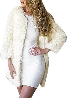 iHPH7 Women Faux Fur Ladies Sleeveless Vest Waistcoat Jacket Gilet Shrug Coat Outwear