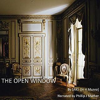 The Open Window audiobook cover art