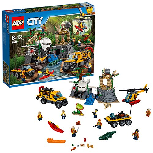 "LEGO City 60161 - ""Dschungel-Forschungsstation Konstruktionsspiel, bunt"
