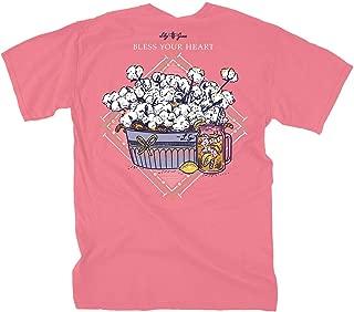 Bless Your Heart - Salmon | Women's Topside Cotton T-Shirt