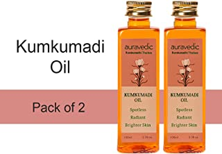 Auravedic Kumkumadi oil (pack of 2), 100ml each