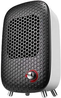 LRXG Calentadores de Ventilador, radiador de Ahorro de energía para pequeñas oficinas Verticales para el hogar - Calefacción de cerámica de PTC, protección contra sobrecalentamiento (Blanco)