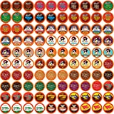 Two Rivers Chocolate Pods, Single Serve Variety Sampler Pack for Keurig K Cup Brewers, 100Count -...