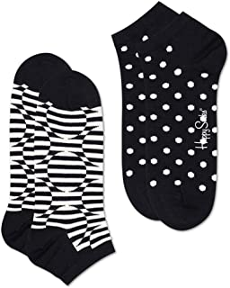 2-pack Optic Dot Low Sock Calcetines, Multicolor (Multicolour 910), 7/10 (Talla del fabricante: 41-46) (Pack de 2) para Hombre