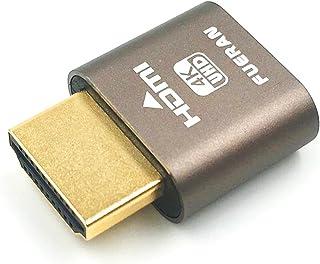 FUERAN HDMI Dummy Plug,Headless Ghost, Display Emulator ï¼Ë†Fit Headless-1920x1080 New Generation@60Hzï¼â€°