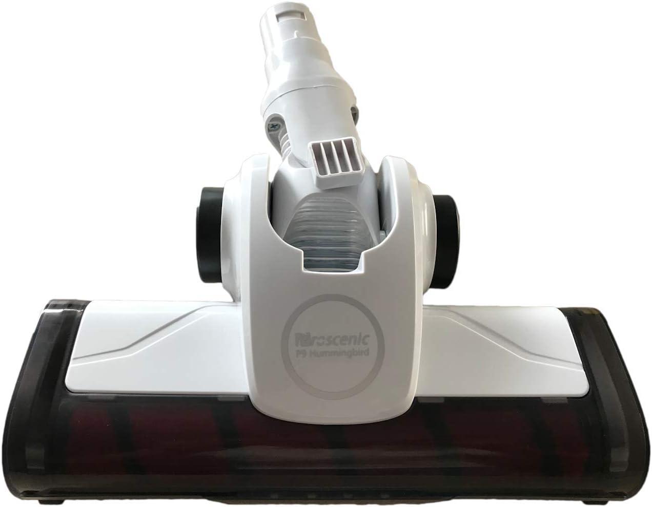 LongRong - Cabezal de cepillo eléctrico para aspiradoras Proscenic P8, P9, P9 GTS/I9 (incluye cepillo principal)